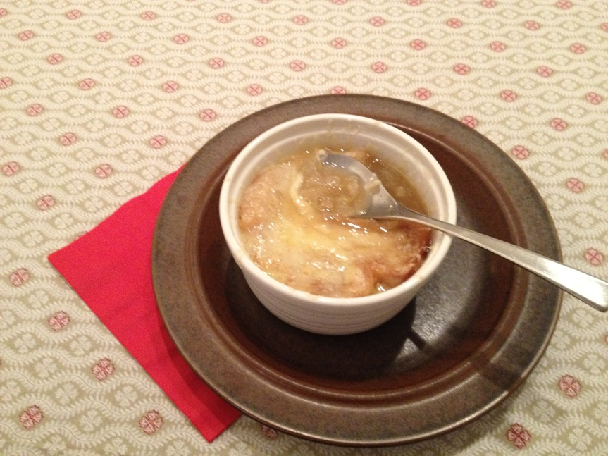 ffwd – cheese-topped onionsoup