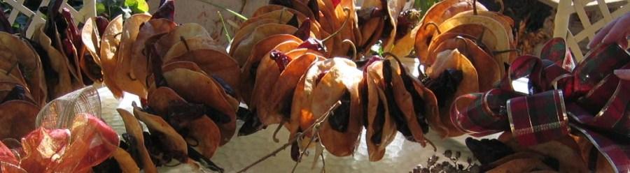 tortilla wreaths