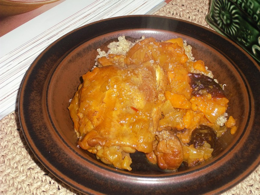 ffwd – chicken tagine with sweet potatoes and prunes