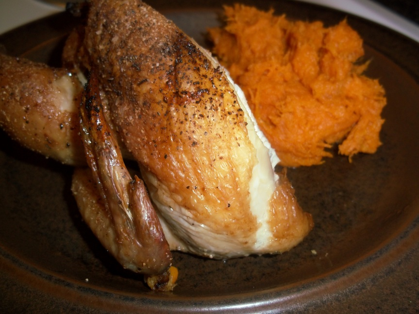 ffwd – sausage-stuffed cornish hens