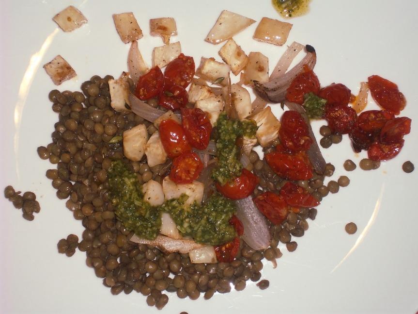 ffwd – french lentils – a basicrecipe