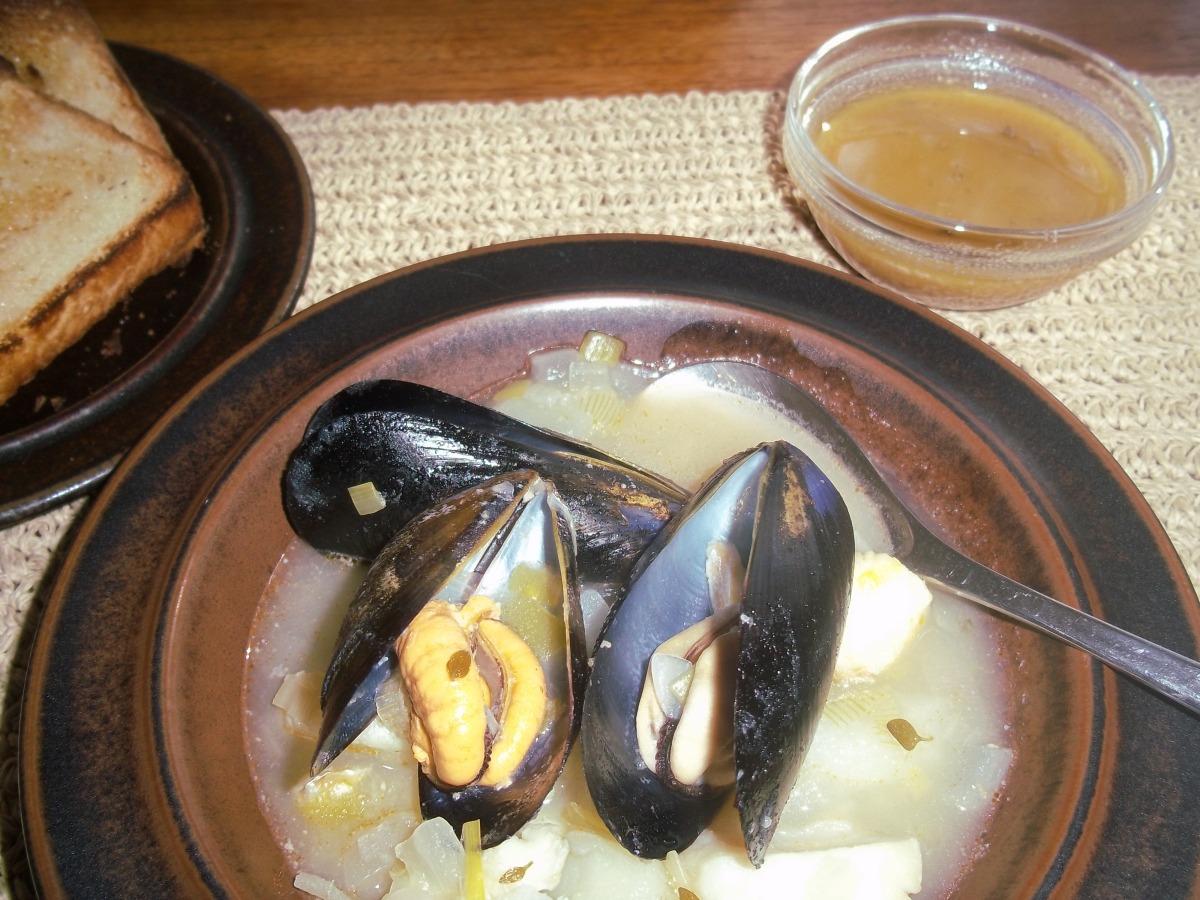 ffwd - simplest breton fish soup