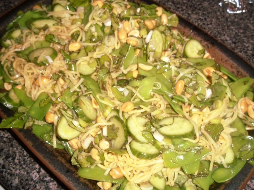 CCC – The May Recipes: Salad andSpouffle