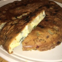 CtBF - Potato, feta and basil tortilla