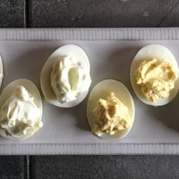 CtBF - Hard-cooked eggs with chervil mayonnaise