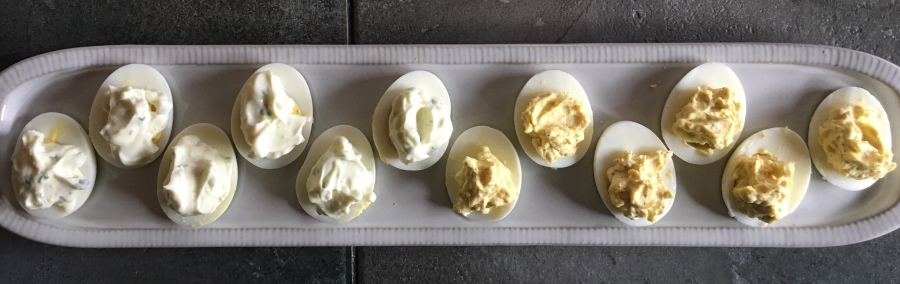 CtBF – Hard-cooked eggs with chervil mayonnaise